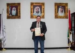 """""""الرياضة للجميع"""" في الإمارات تقود ليوناردو ماتارونا لأعلى الأوسمة العالمية"""