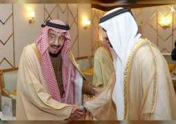 حمدان بن محمد يشهد ختام مهرجان الملك عبدالعزيز للإبل في نسخته الرابعة
