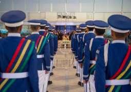 سمو ولي العهد يرعى حفل تخريج الدفعة 97 من طلبة كلية الملك فيصل الجوية