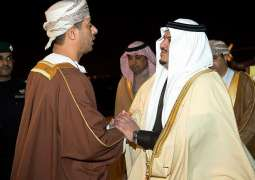 وزير الشؤون الرياضية العماني يغادر الرياض