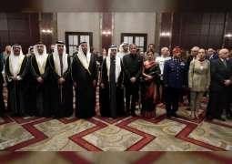 نهيان بن مبارك يحضر حفل السفارة الهندية بمناسبة يوم الجمهورية