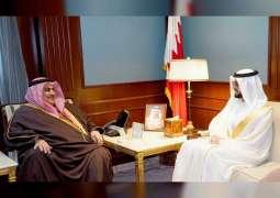 Bahraini FM receives UAE Ambassador