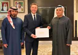 Mattar Al Tayer receives President of international cyclingfederation
