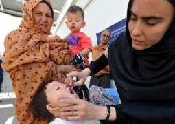 Anti-polio campaign begins in 15 districts of KP