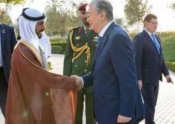 رئيس كازاخستان يزور واحة الكرامة