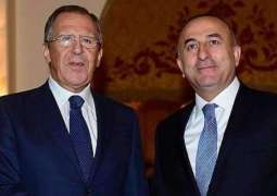 Lavrov, Cavusoglu Discuss Syrian Conflict Settlement in Phone Talks