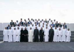 Mohamed bin Zayed receives organisers of Zayed Charity Marathon
