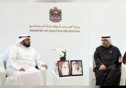 Minister of Health meets Saudi and Kuwaiti counterparts
