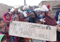 Majid Al Futtaim collaborates with Miracle School Ministriesto support under privileged families in Lahore