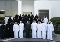 Mohamed bin Zayed receives first batch of graduates of ADVETI's retail commerce programme