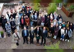 """عمدة مدينة """"دندي"""" يستقبل طالبات كلية آل مكتوم المشاركات في الدورة 29 للتعددية الثقافية"""