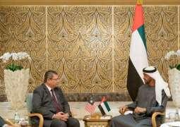 Mohamed bin Zayed meets Malaysian King's envoy