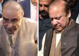 Cabinet warns action against Nawaz Sharif Zardari if they failed to return 'public money'