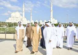 Mansour bin Zayed inaugurates visitor centre, market at Sheikh Zayed Grand Mosque