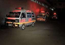 House fire injures four in Lahore