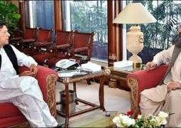 Balochistan Chief Minister calls on Prime Minister Imran Khan