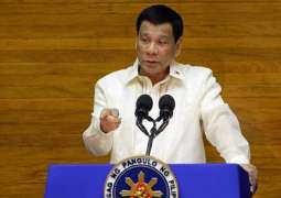 Philippine President Duterte Forbids Cabinet Ministers From Traveling to US