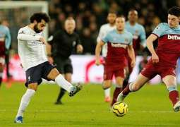 Liverpool beat West Ham United in EPL