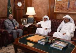 HE Governor Sindh received HE Ambassador of the State of Qatar