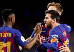 Barcelona move into the quarter-finals of the Copa del Rey