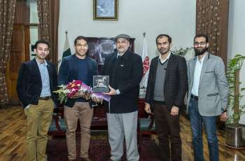 Dr Ali Imran from Oklahoma University visits UVAS