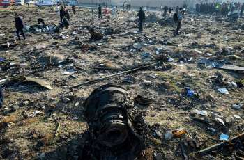 Iran's Civil Aviation Confirms Black Boxes of Downed Boeing Will Be Sent to Ukraine