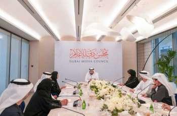 أحمد بن محمد يترأّس الاجتماع الأول لمجلس دبي للإعلام
