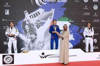 86 ميدالية تضع الإمارات في صدارة الترتيب العام لبطولة أبوظبي جراند سلام للجوجيتسو