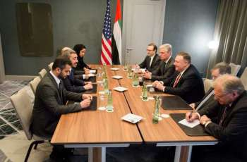 Abdullah bin Zayed meets US Secretary of State
