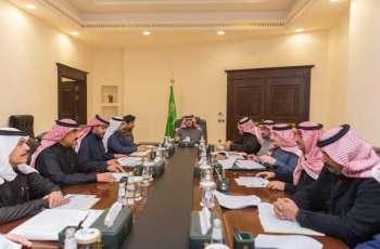 سمو أمير منطقة الجوف يرأس الاجتماع التاسع للجنة التنفيذية للإسكان التنموي