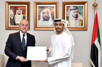 MoFAIC receives copy of credentials of new Georgian ambassador to UAE