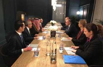 وزير الدولة للشؤون الخارجية يلتقي وزير الخارجية الكرواتي