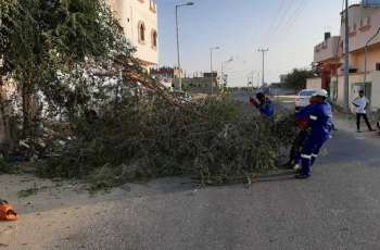بلدية غميقة بمحافظة الليث تواصل جهودها في مكافحة التشوه البصري