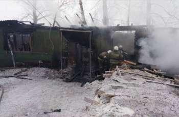 Ten Uzbek Nationals, 1 Russian Killed in Fire in Tomsk Region - Authorities