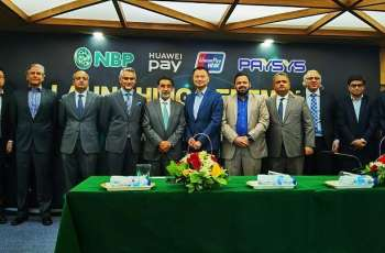 Huawei Cooperates with National Bank of Pakistan and UnionPay International to Launch Huawei Pay