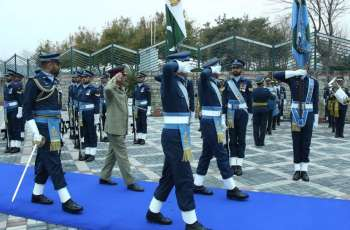 CJCSC visits Air Headquarters, discusses professional matters with Air Chief