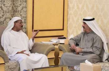 UAQ Ruler reviews Infrastructure Ministry, Sheikh Zayed Housing Programme's projects