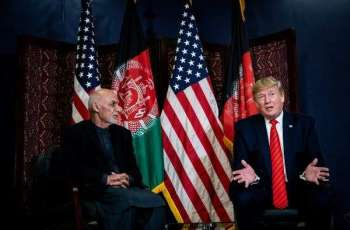 Trump, Ghani Discuss Need for Taliban to Reduce Violence - White House
