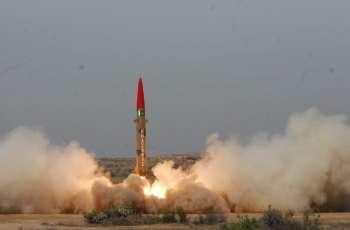 Pakistan successfully conducts training launch of short range ballistic missile Ghaznavi