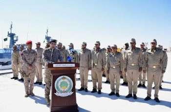 وزارة الدفاع تستقبل الدفعة الأولى من مشروع الزوارق الاعتراضية السريعة للقوات البحرية الملكية السعودية