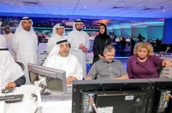 Ahmed bin Mohammed visits Dubai Media Incorporated