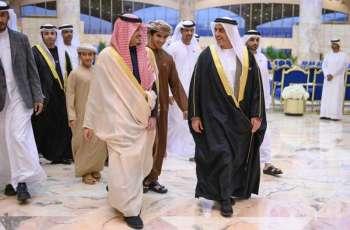 وزير الداخلية الإماراتي يصل إلى الرياض