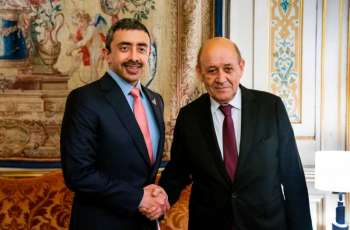 Abdullah bin Zayed meets with French FM