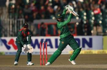 Pakistan beat first T20I match against Bangladesh by five wickets