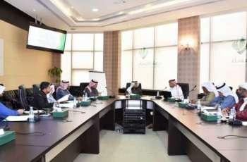 لجنة المكاتب الاستشارية الهندسية بغرفة الأحساء تعتمد أهدافها وبرامجها