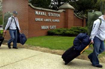 US Naval Station in Illinois on Lockdown Amid Search For Gate Runner - Navy