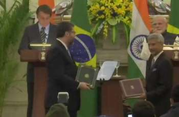 Brazil, India Sign Multiple Memorandums of Understanding During Bolsonaro's Visit