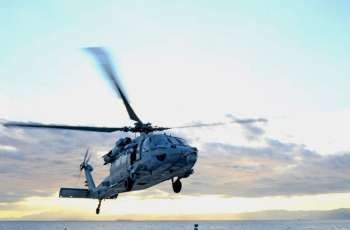US Military Helicopter Crashes in Philippine Sea, All Five Crew Members Rescued - Navy