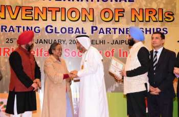 President of Global Council for Tolerance and Peace receives 'Gandhi Peace Prize'