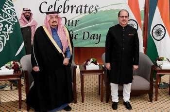 سمو أمير الرياض يشرف حفل سفارة جمهورية الهند لدى المملكة